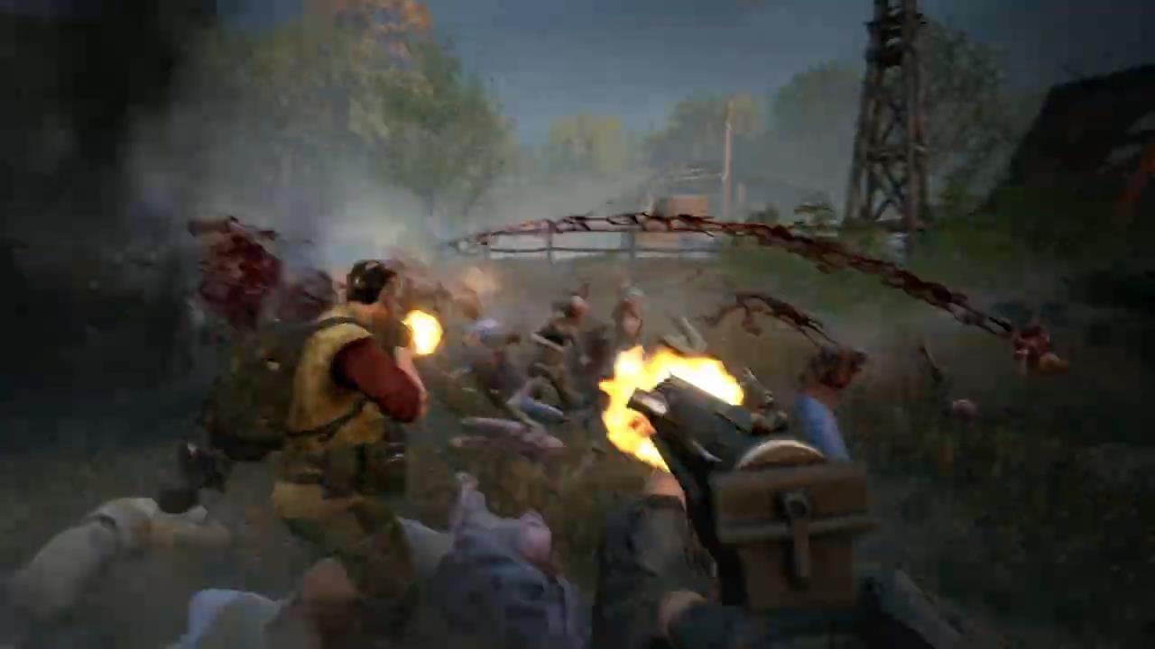 E3 2021:《喋血复仇》新预告公布 10月12日发售