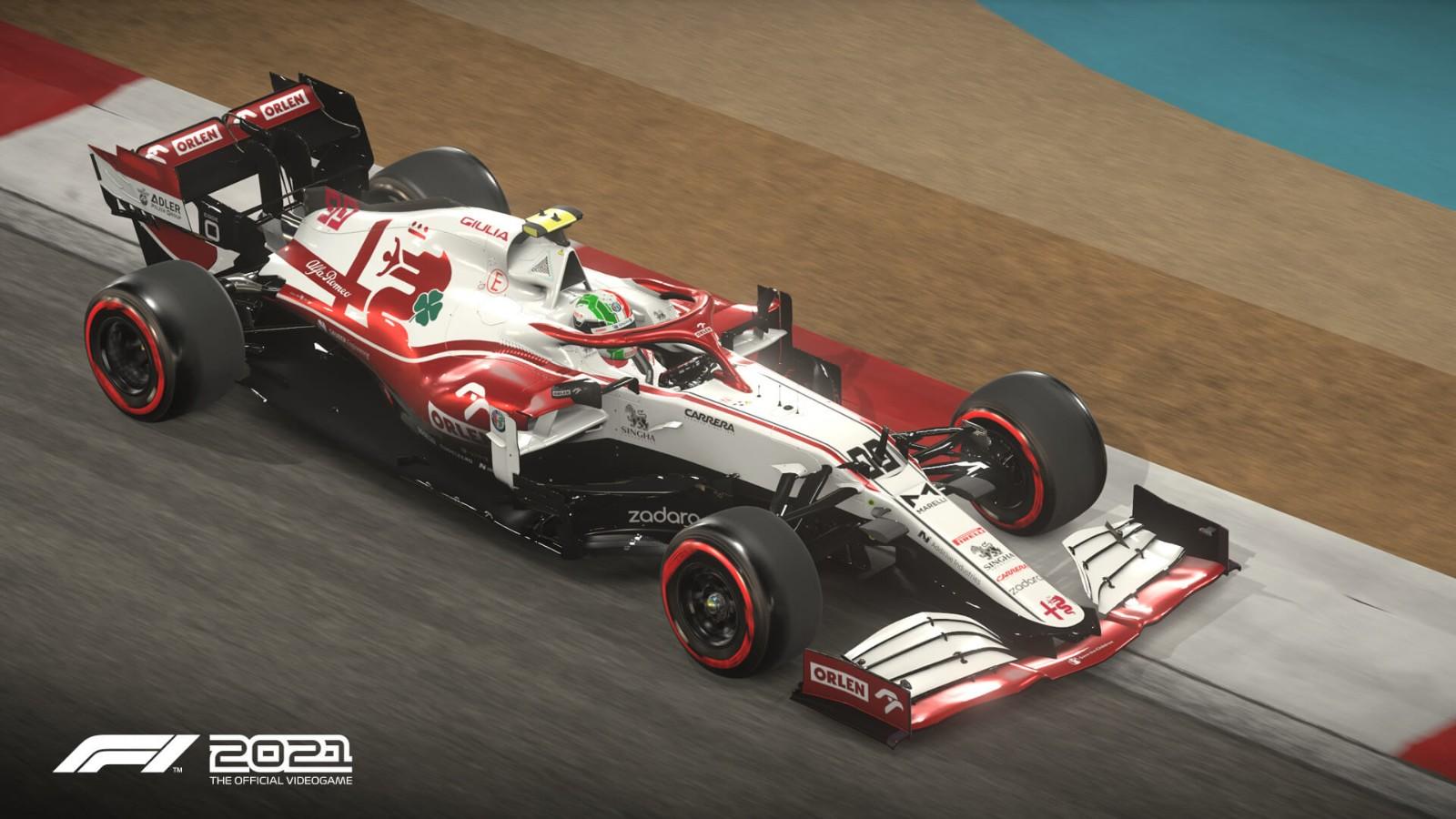 《F1 2021》首批截图发布 7月16日正式发售