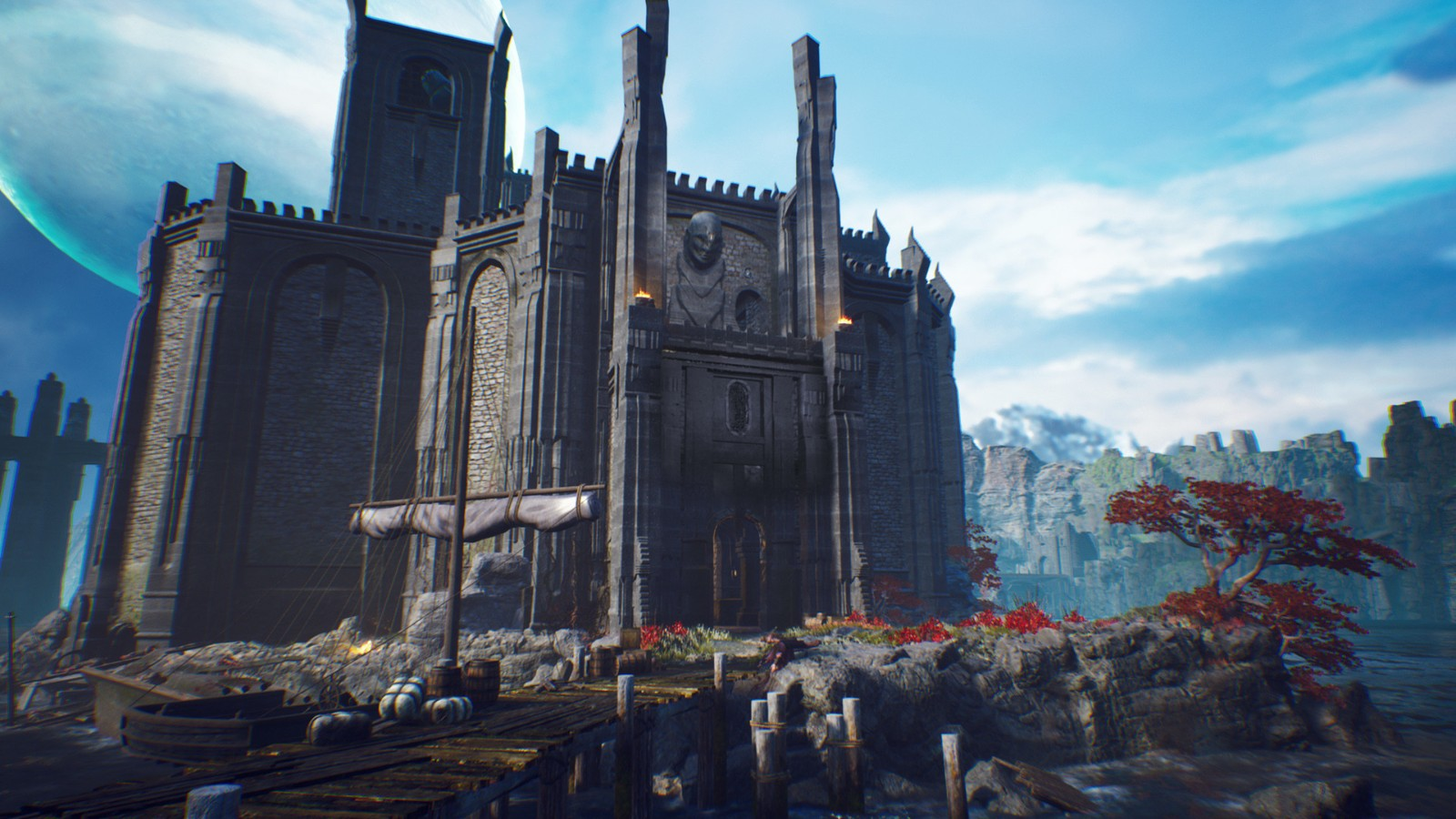 E3 2021:科幻中世纪!动作RPG《The Last Oricru》首批截图