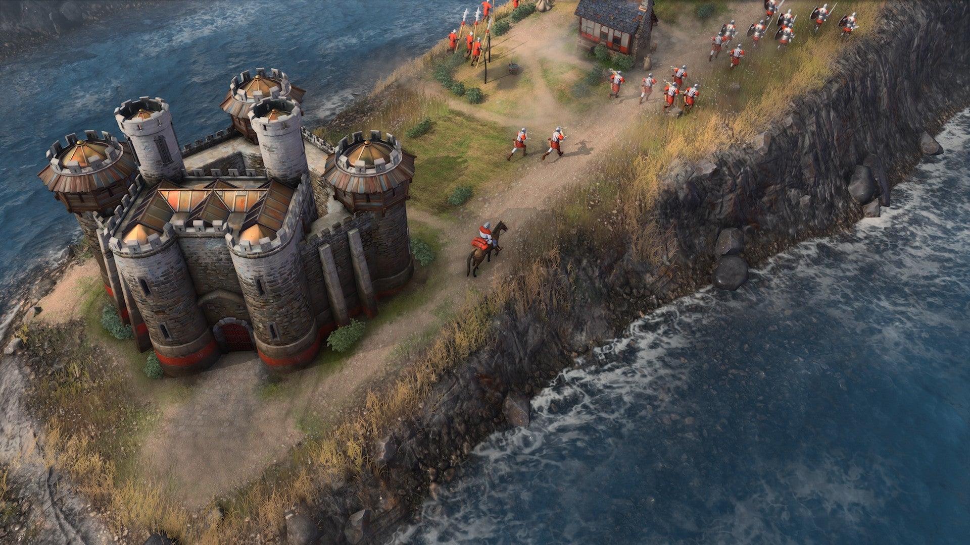 《帝国时代4》新图曝光:八大文明首发、支持1V7