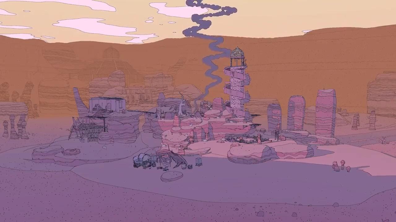 E3 2021:莫比斯风冒险游戏《Sable》新实机预告