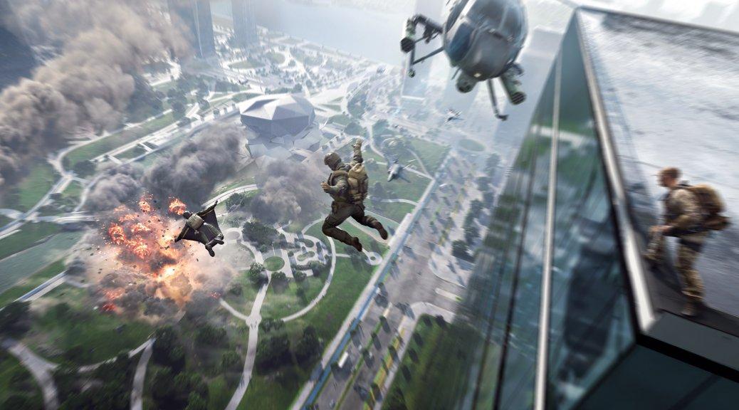 E3 2021:EA与DICE分享《战地2042》超短实机演示