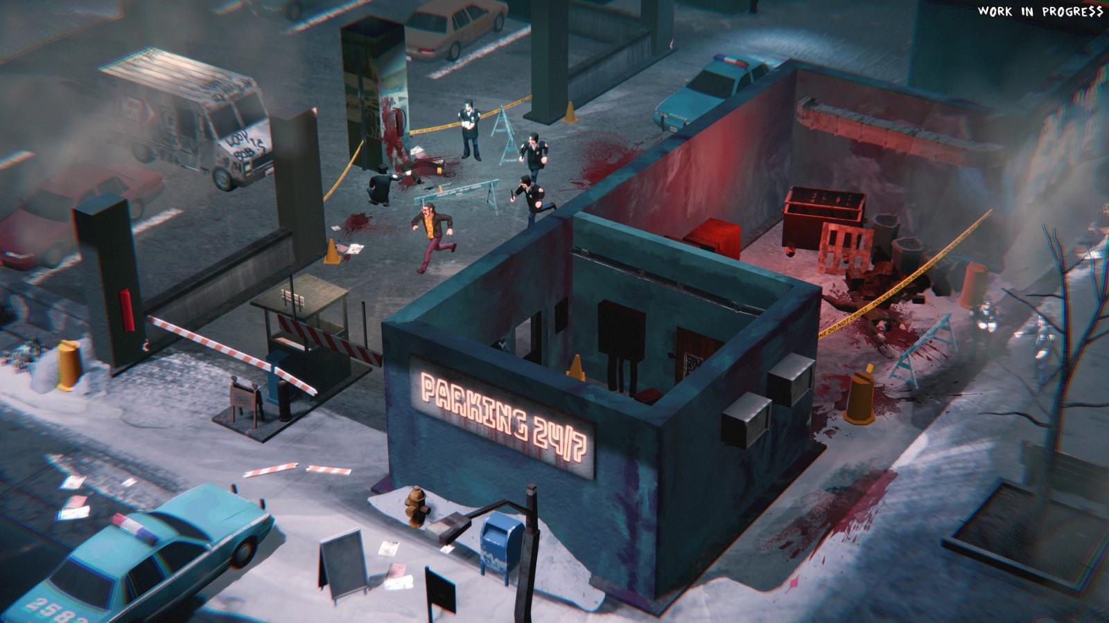 E3 2021:潜行动作游戏《连环清洁组》实机宣传片