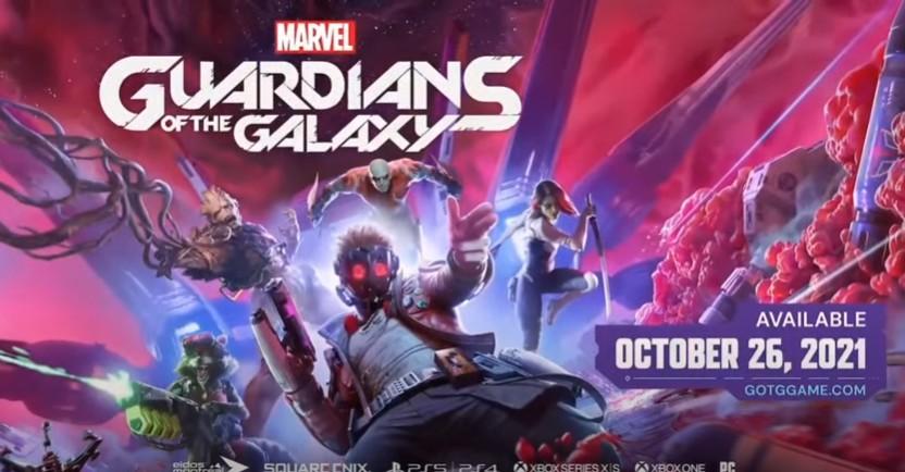 E3 2021:《漫威银河护卫队》最新预告 10月26日发售