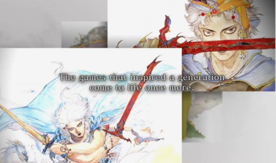 E3 2021:《最终幻想》究极重置公布 FF1代到6代