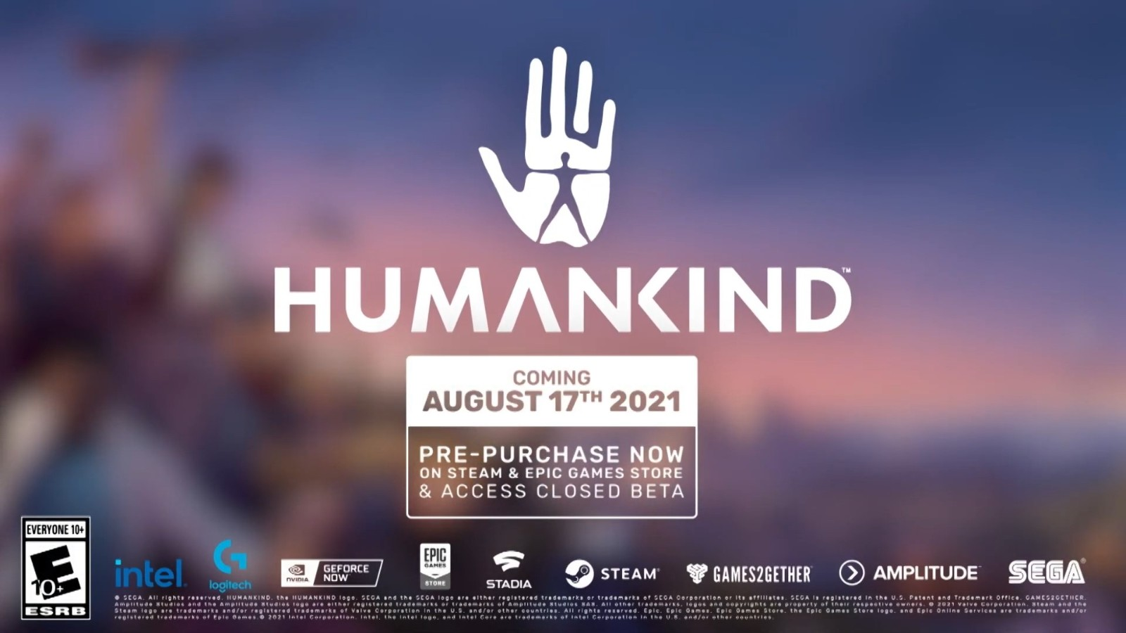 E3 2021:世嘉RTS新作《人类》新预告 售价232元
