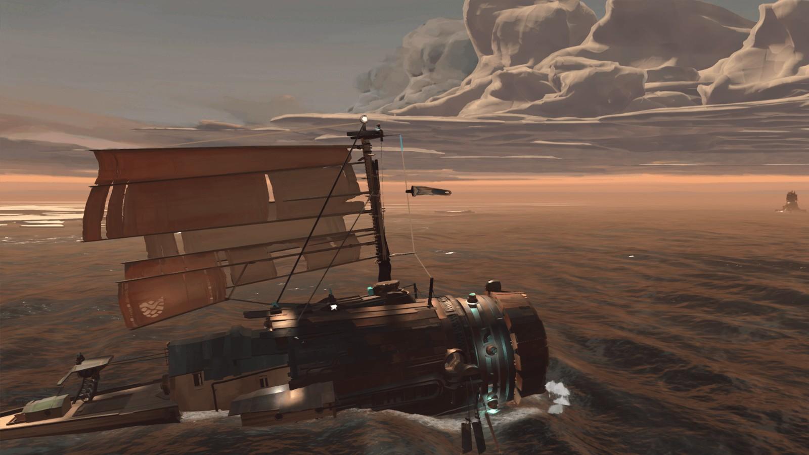 E3 2021:末日航行冒险游戏《远方:变潮》发布