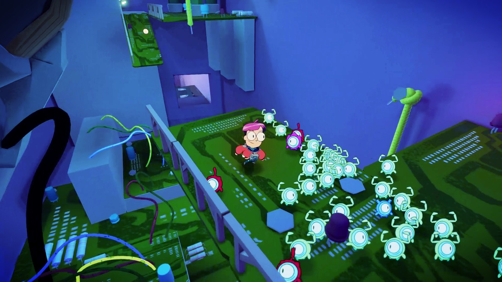 E3 2021:类皮克敏玩法动作游戏《微金人》发布