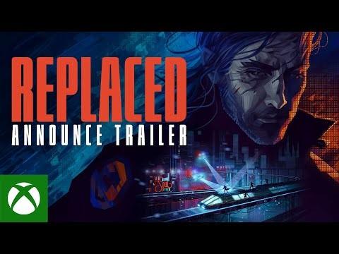E3 2021:科幻复古平台游戏《Replaced》预告片