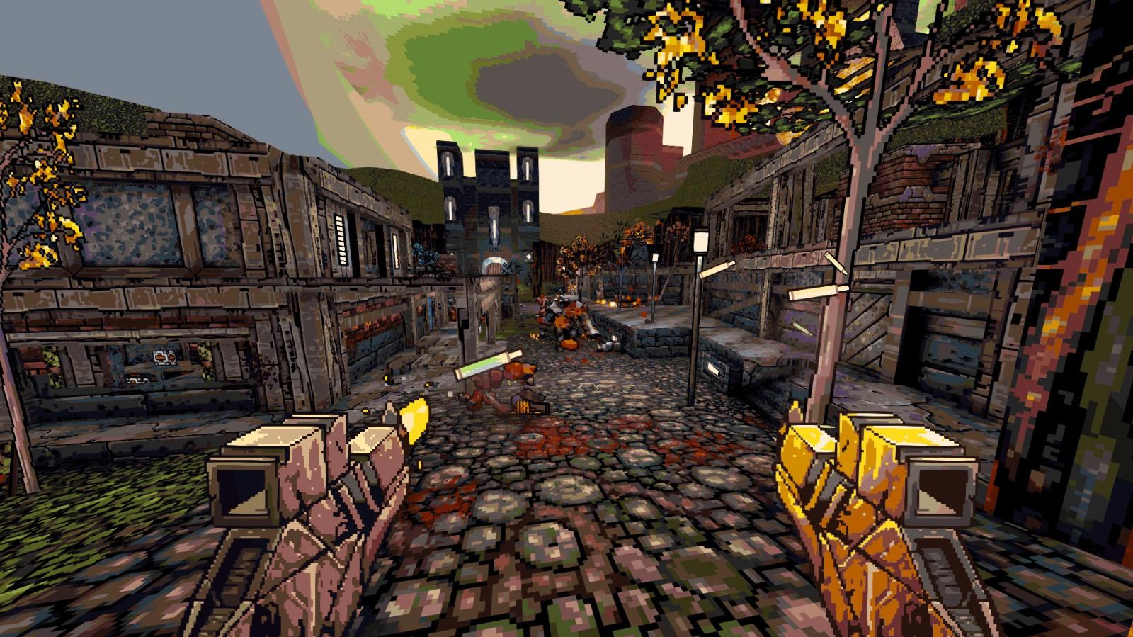 E3 2021:爽快复古像素风FPS《术士计划2》发布