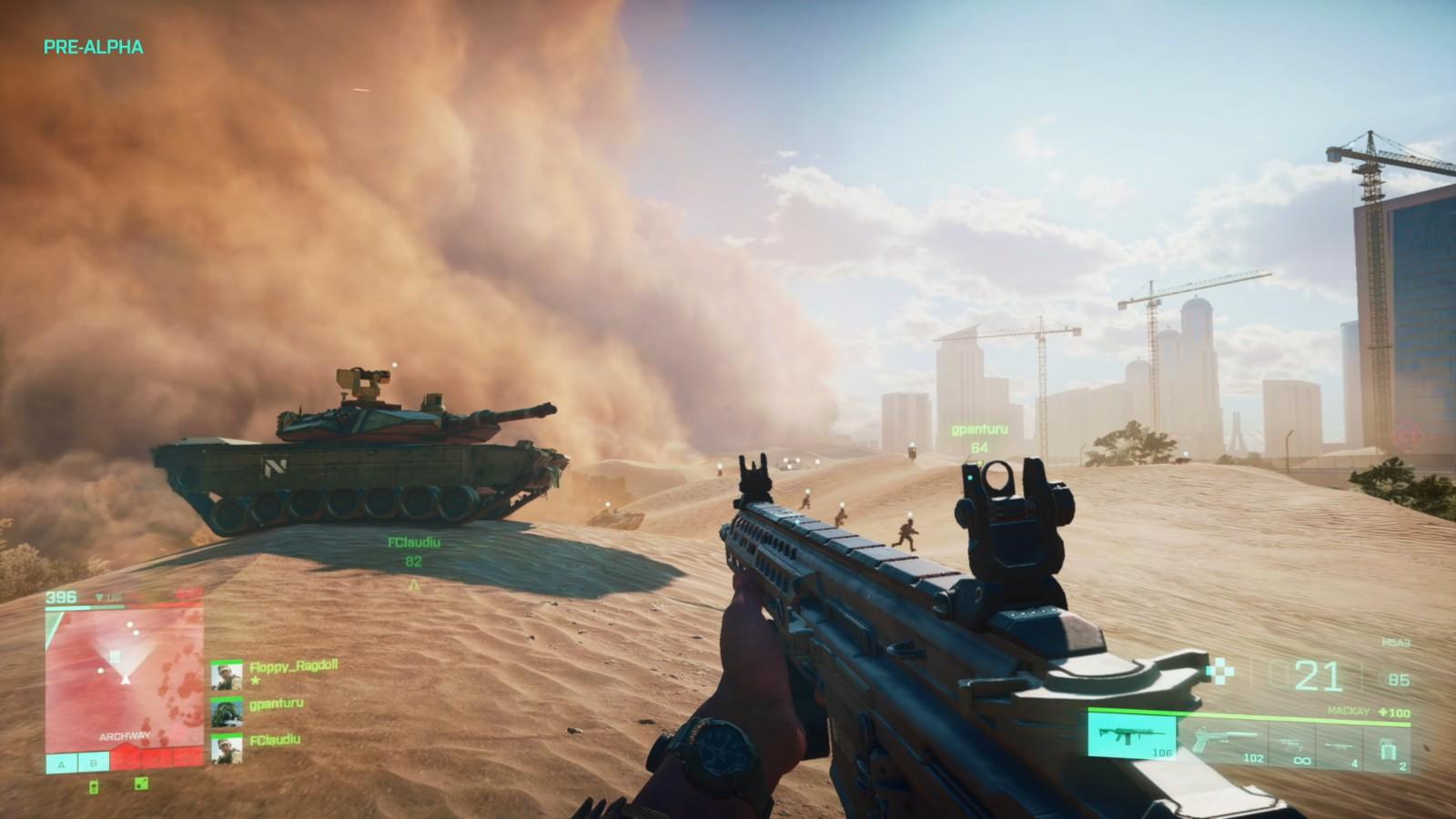 E3 2021:《战地2042》中文版实机预告片