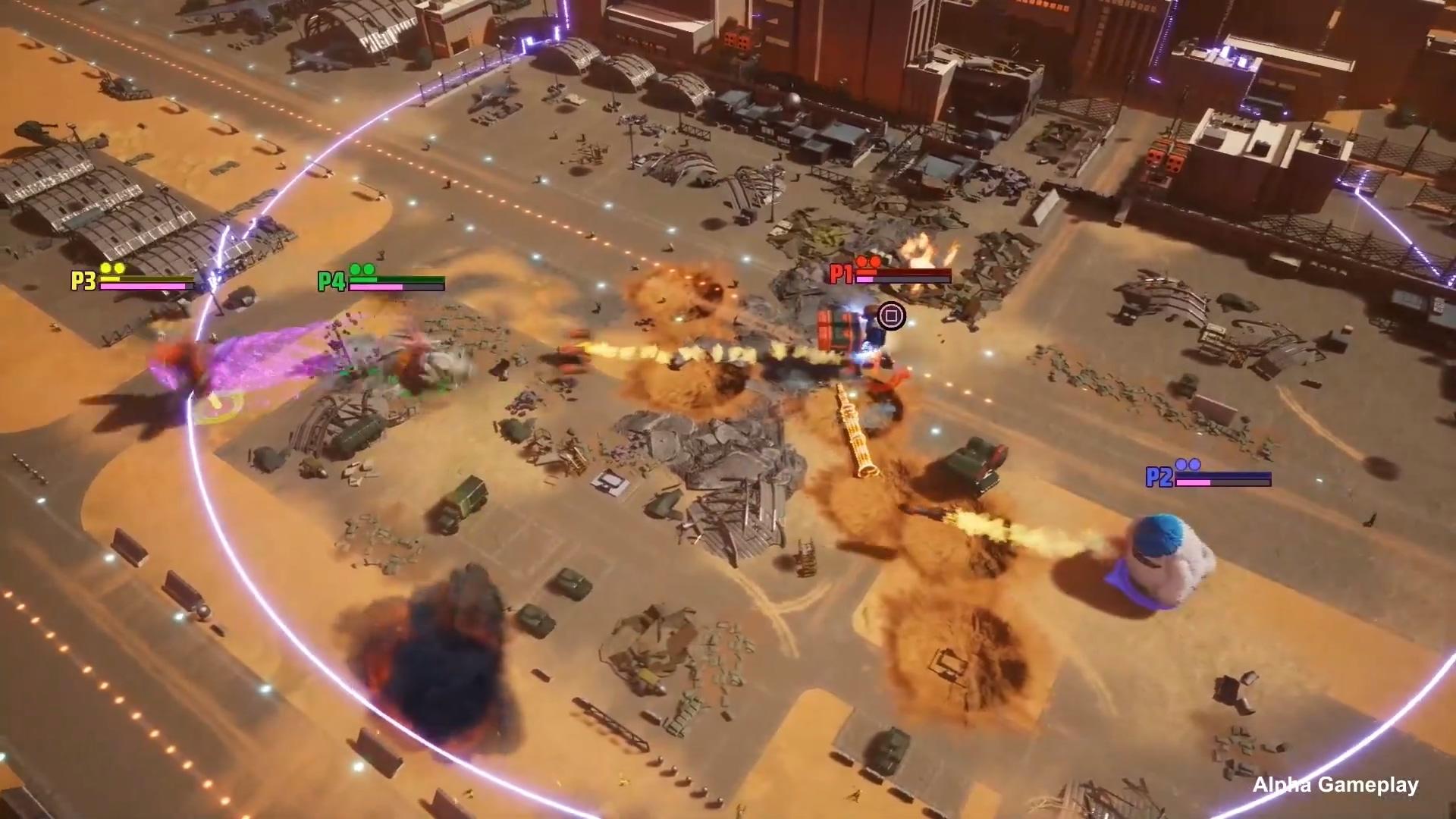 E3 2021:巨兽乱斗游戏《Gigabash》公布预告片