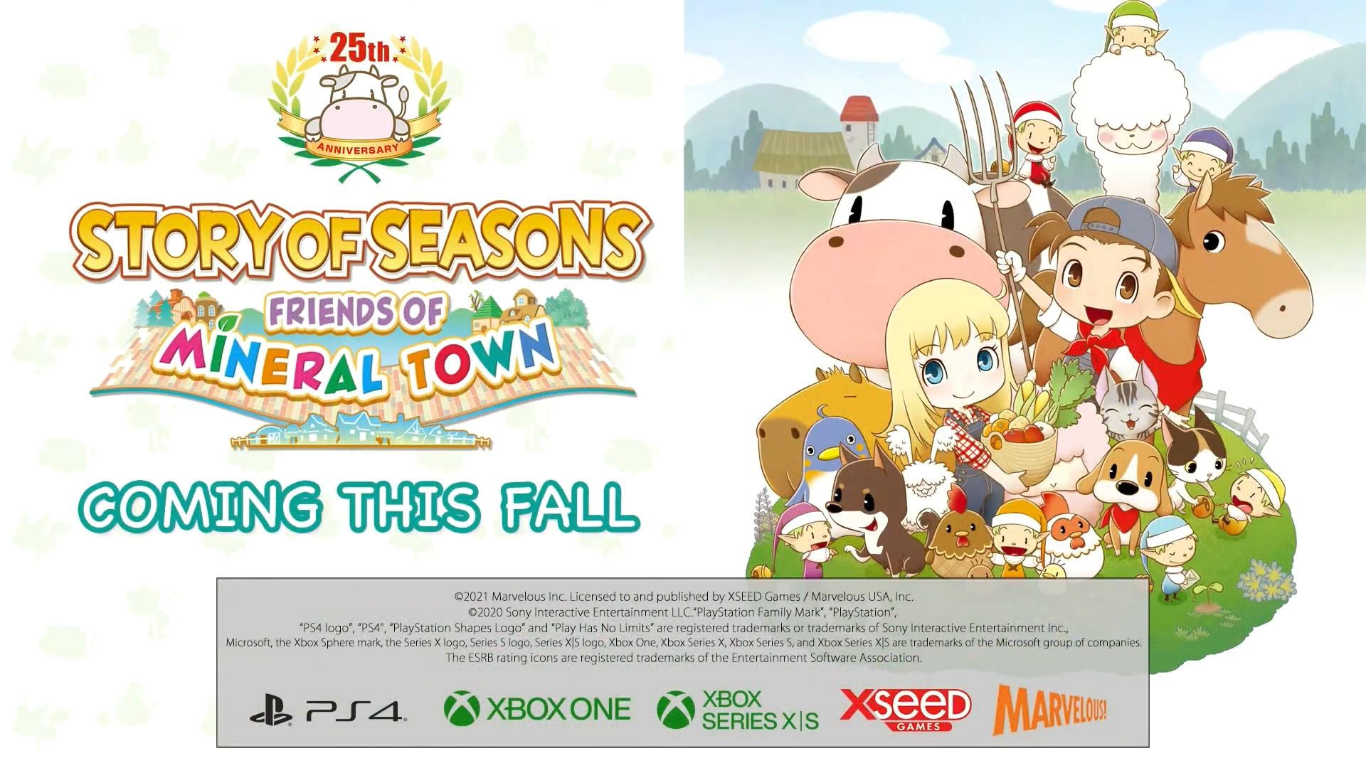 E3:《符文工厂4》、《重聚矿石镇》今秋登陆PS4/Xbox