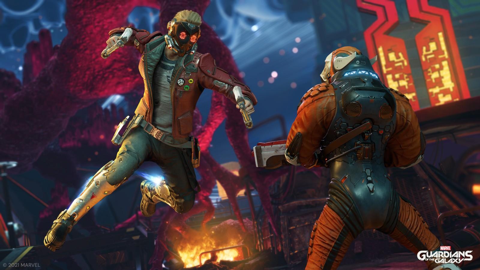 E3:《漫威银河护卫队》首批截图和细节 只能扮演星爵、没有DLC
