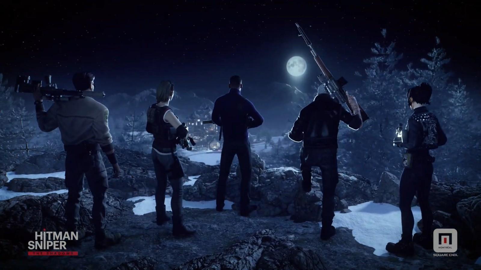 E3:手游《杀手狙击:阴影》宣传片发布 2021年内推出