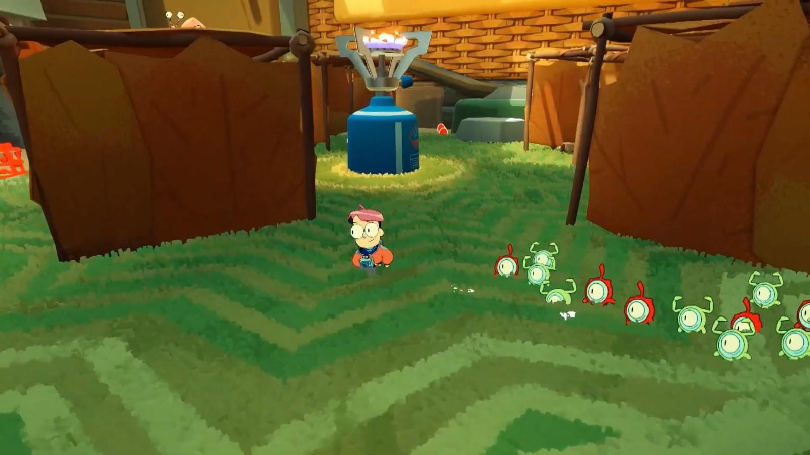 E3 2021:《小人族》预告片公布 PC版《皮克敏》