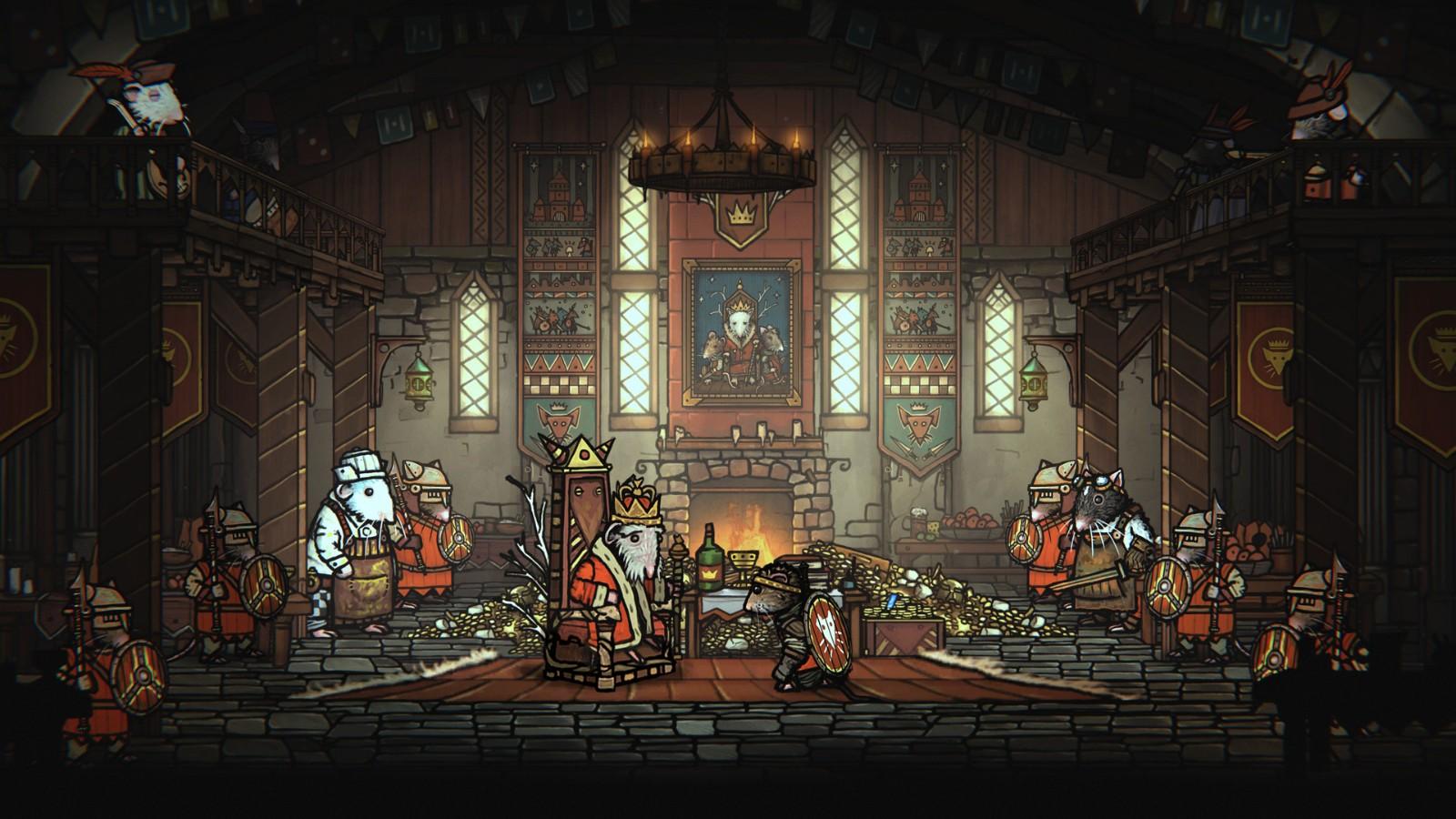 E3:手绘风动作冒险游戏《Tails of Iron》年内发售