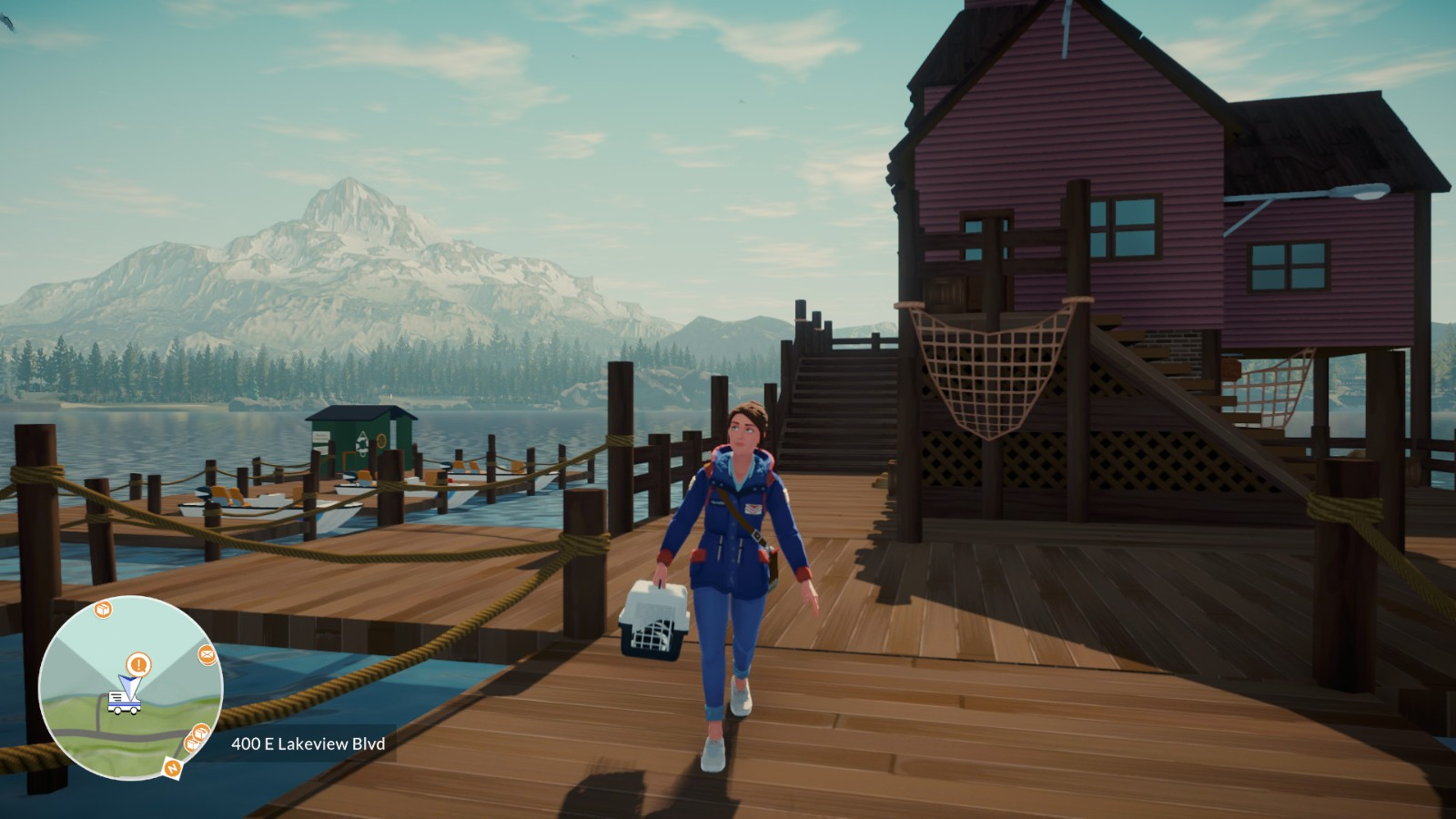 E3:送信员模拟器《Lake》新预告 9月1日发售