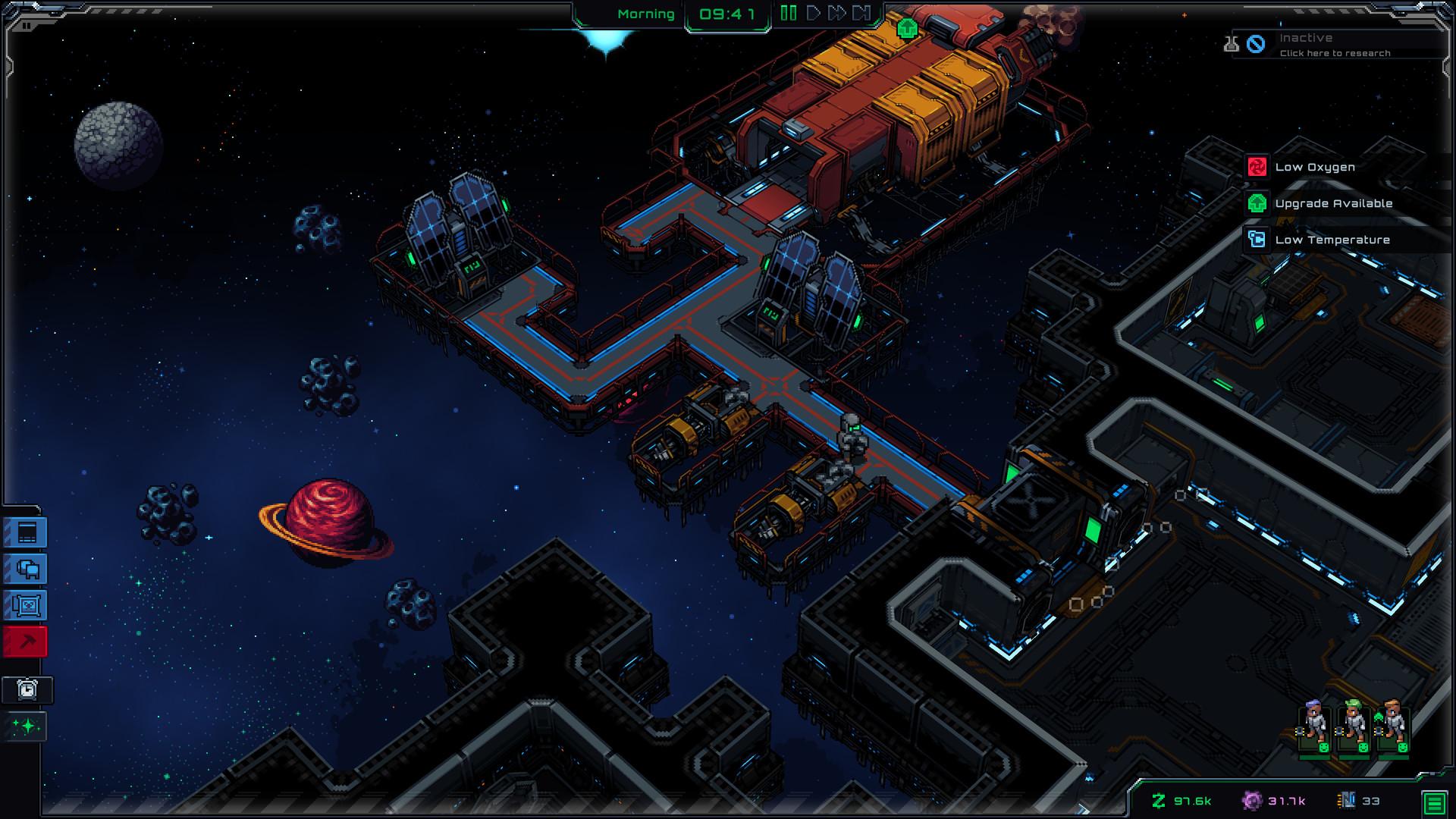 E3:太空基地建造游戏《Starmencer》最新宣传片 8月5日登陆Steam