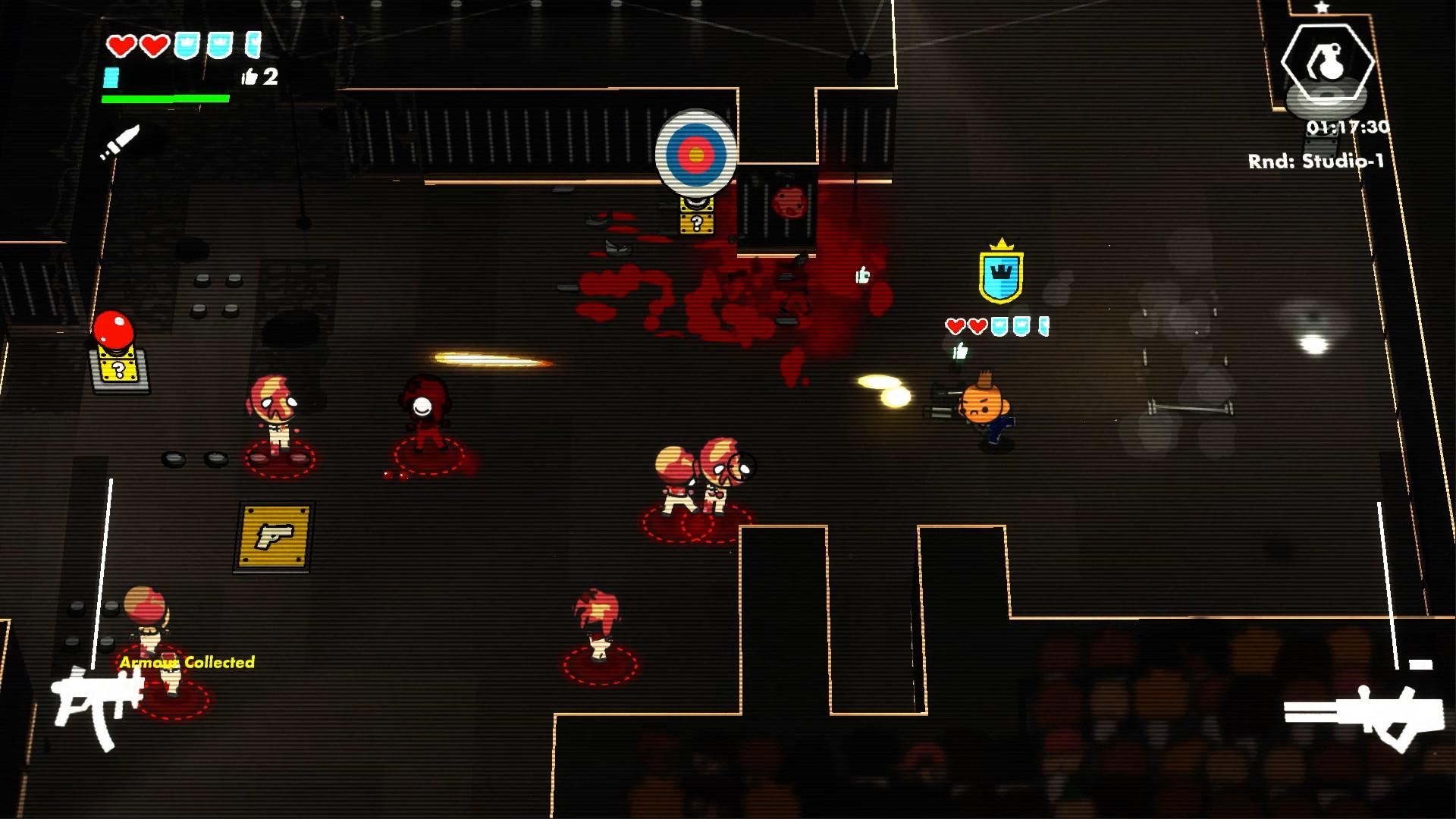 E3:肉鸽真人秀弹幕游戏《DEATHRUN TV》首发预告 现在即可下载免费Demo