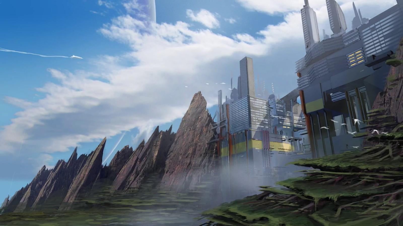 《星空》概念图曝光 制作人称其为太空版《天际》
