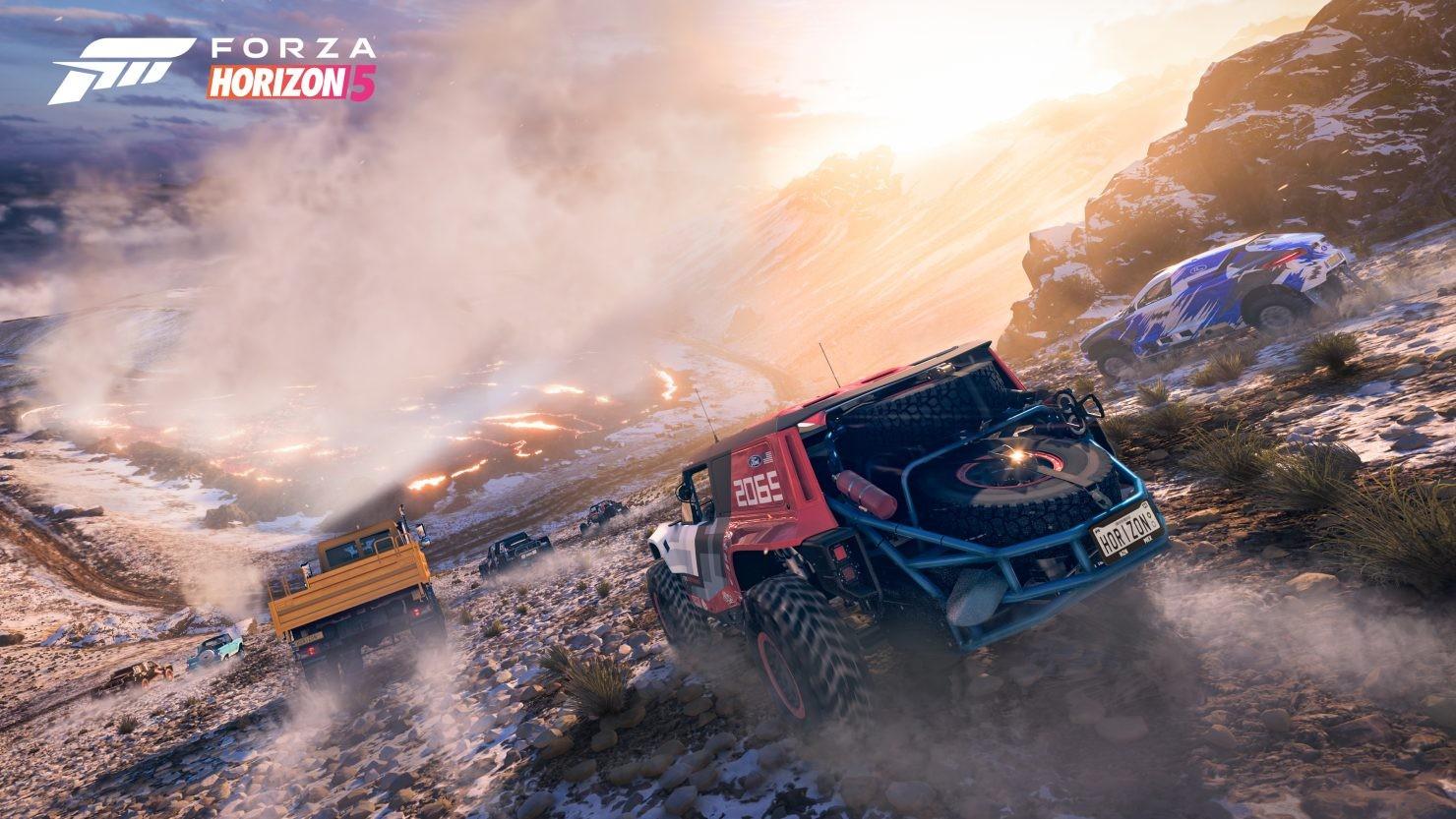 E3:《极限竞速:地平线5》XSX支持4K/30FPS
