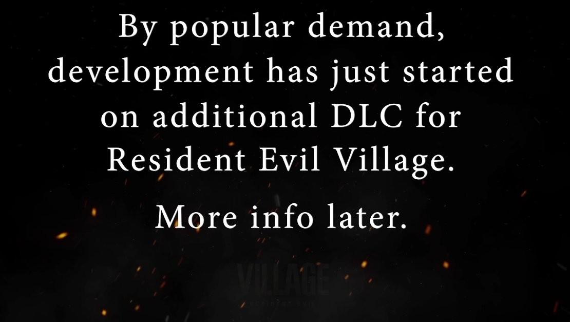 E3 2021:《生化危机8:村庄》扩展DLC确定开发中