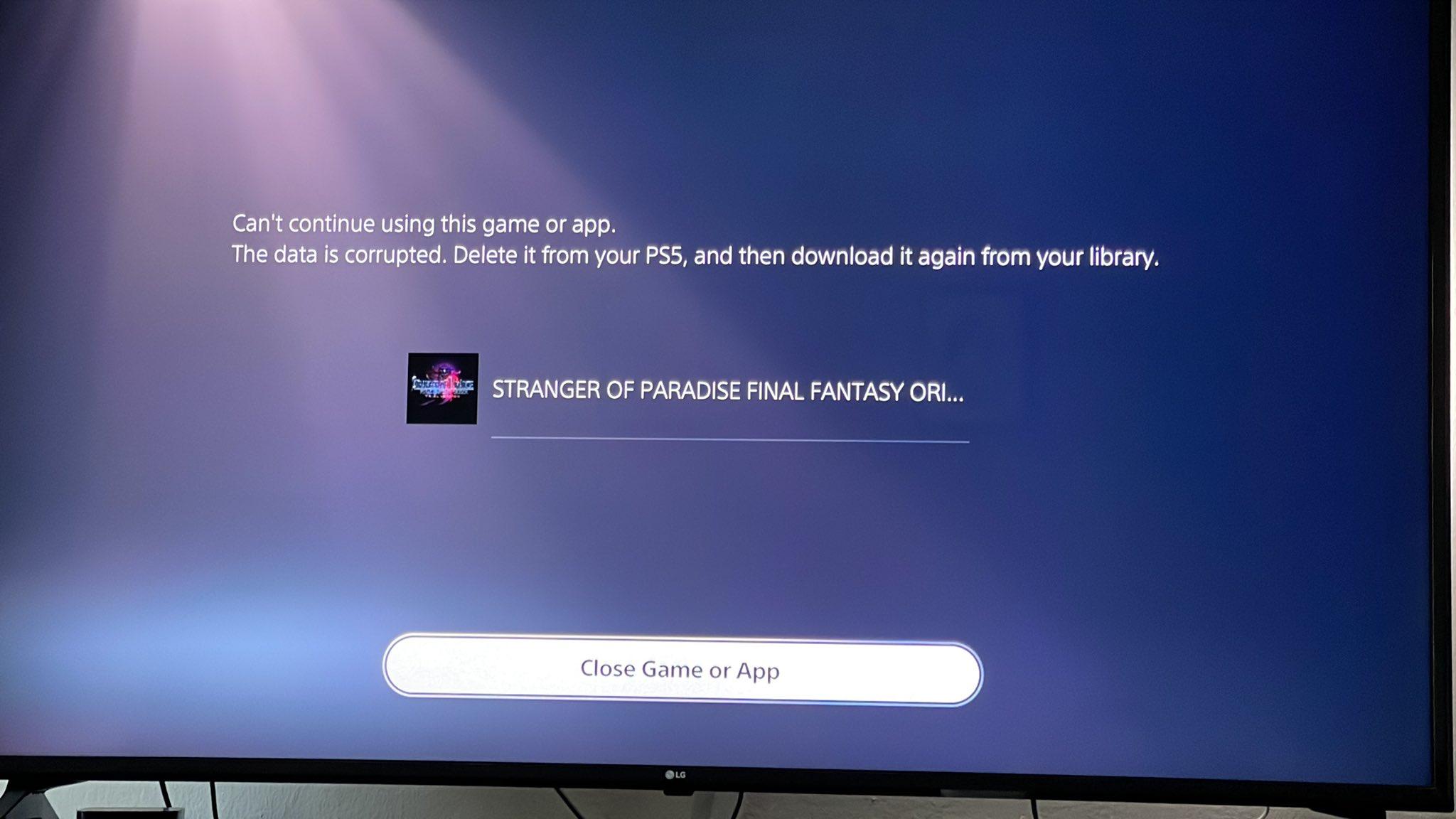 1天之后 《最终幻想:起源》体验版依旧无法下载游玩