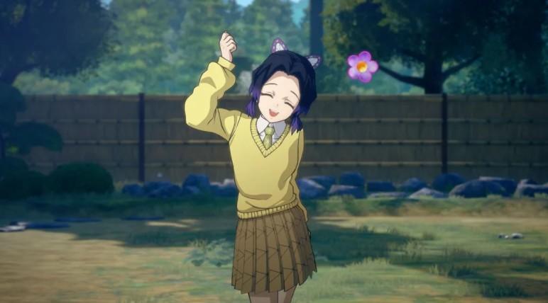 《鬼灭之刃:火神血风谭》最新宣传片 猪头哥学园装帅翻