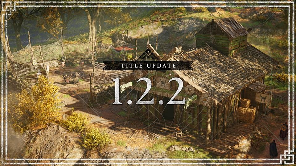《刺客信条:英灵殿》1.2.2大型更新明日上线