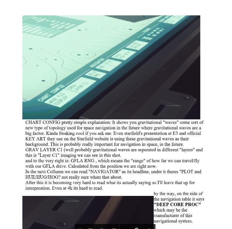 比针还细 狂热玩家根据《星空》预告片写了篇48页文章