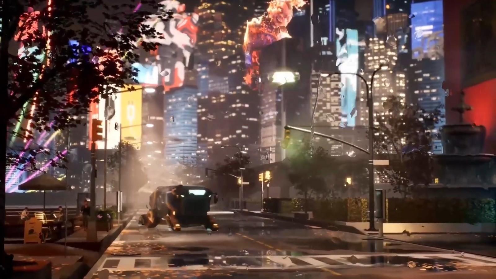 E3 2021:国产赛博朋克《生死轮回》等8款游戏实机展示