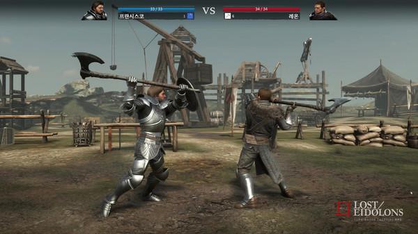 战术回合制角色扮演游戏《Lost Eidolons》将推出试玩
