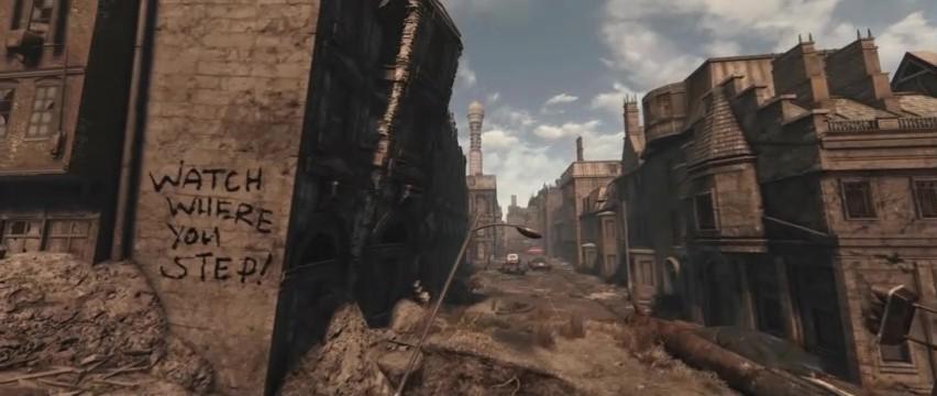 同人逼死官方 《辐射4》Mod《辐射:伦敦》预告片发布