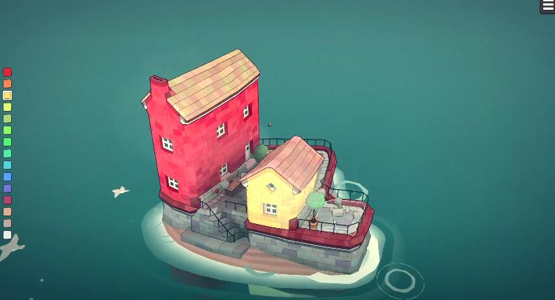 即时城镇建造《Townscaper》将于8月结束Steam抢先体验