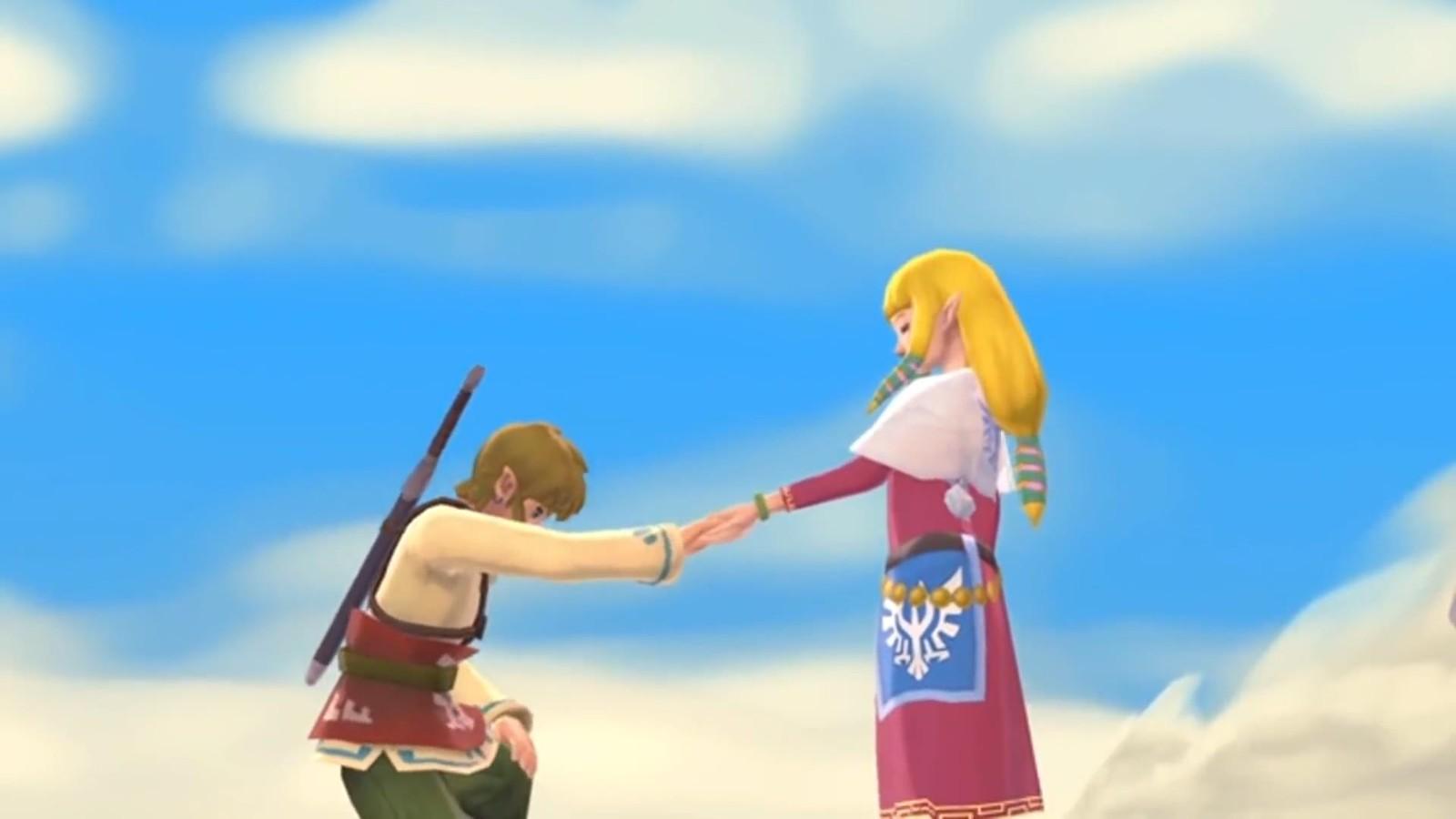 E3 2021:《塞尔达传说:御天之剑HD》全新预告