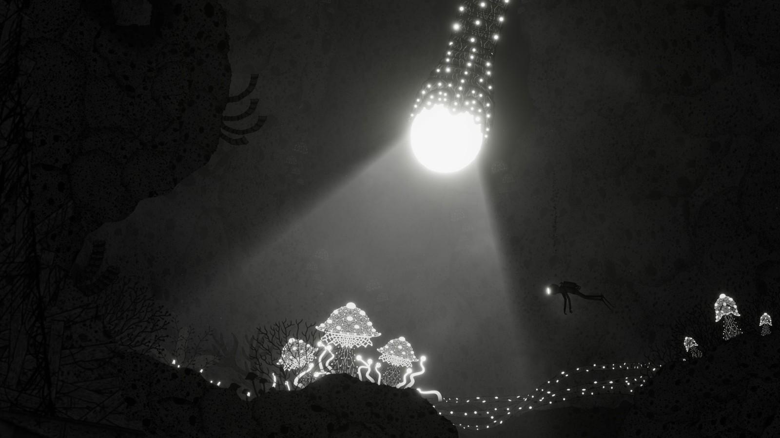 探索超现实水下世界 黑白手绘风《Silt》实机演示