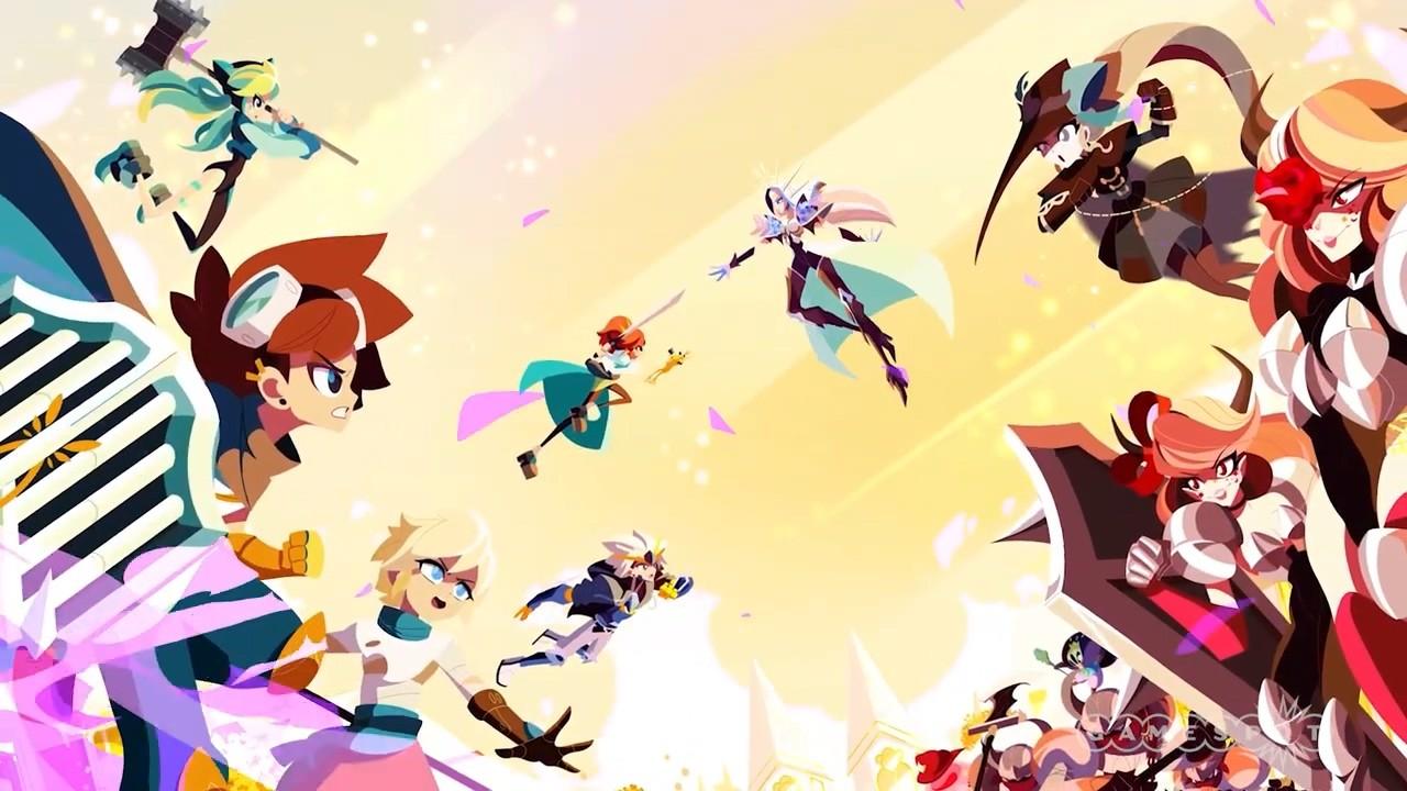 日式穿越RPG游戏《水晶传说》公布酷炫开场动画