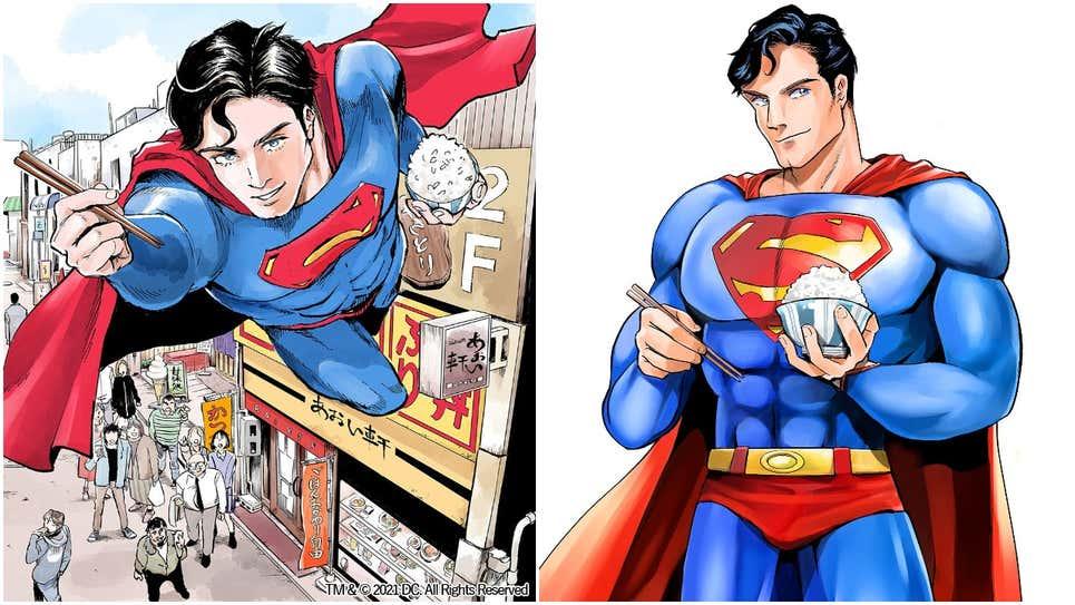 超级干饭人?DC漫画X讲谈社《超人VS食物:超人的