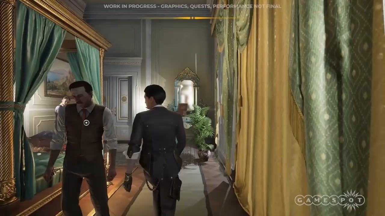 《福尔摩斯:第一章》7分钟新演示 城内探索和伪装
