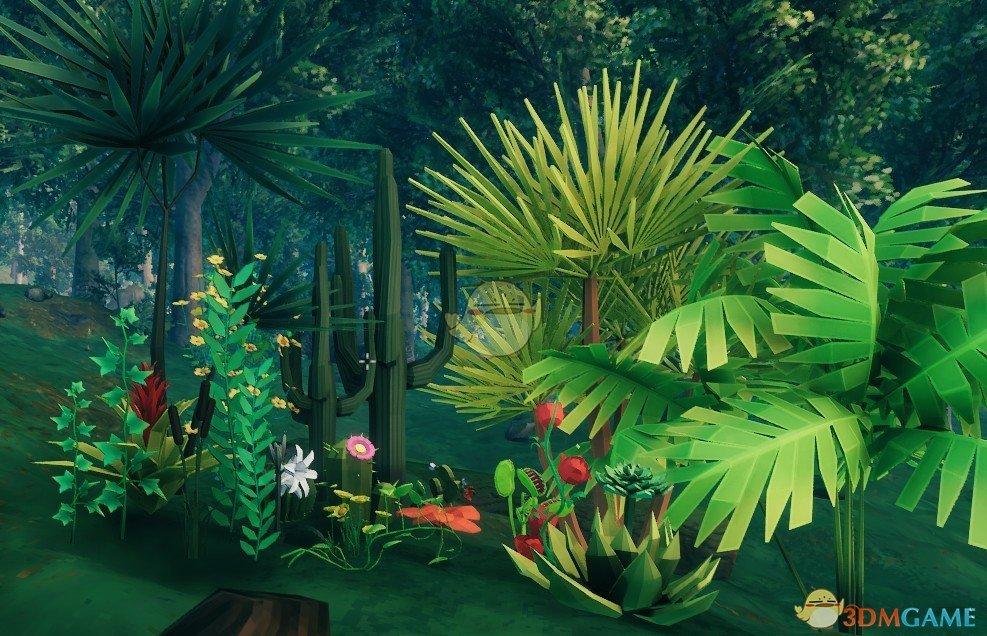 《Valheim:英灵神殿》可建造植物装饰MOD