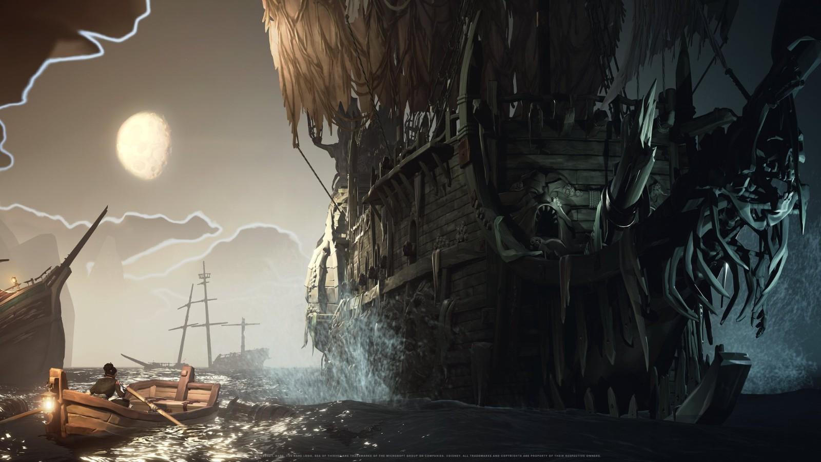 《盗贼之海:海盗生涯》新预告 联动加勒比海盗