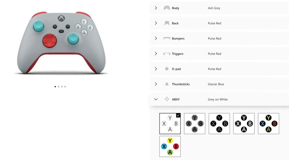 Xbox设计实验室回归 定制属于你的Series X/S手柄
