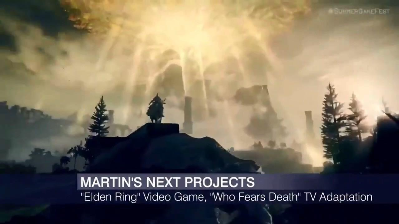 乔治马丁谈《艾尔登法环》:对最终游戏成品很期待