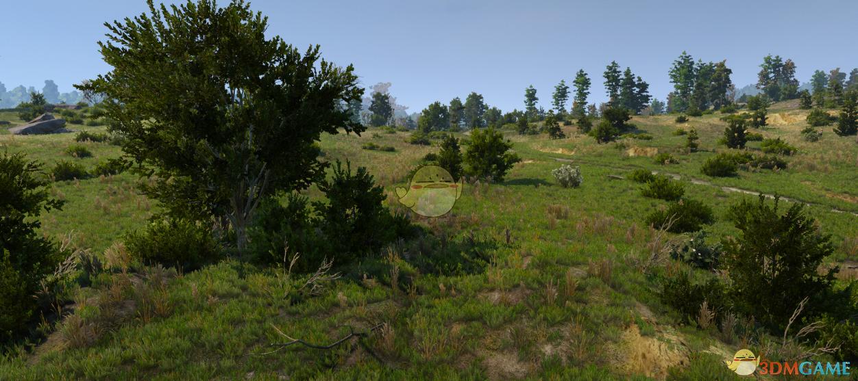 《巫师3:狂猎》树木灌木颜色更深MOD