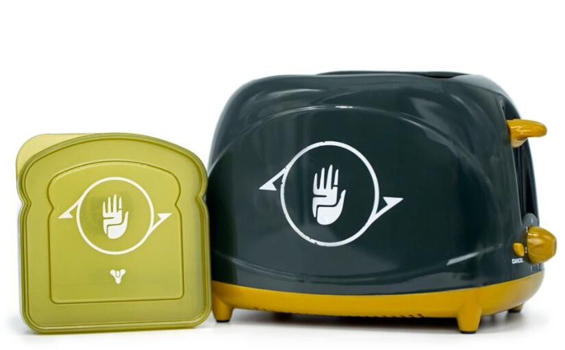 Bungie推出《命运2》烤面包机 可烤出游戏LOGO