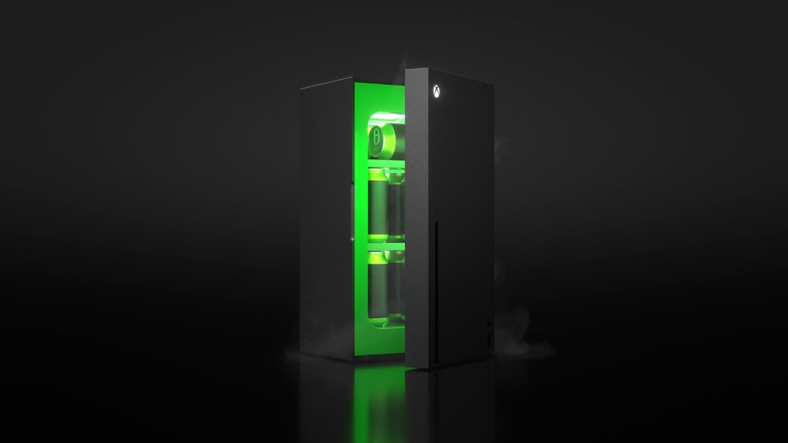 XSX造型冰箱更多图片曝光 今年圣诞假期发售