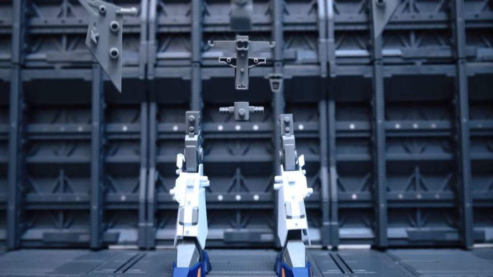 高玩打造《闪光的哈萨维》克西高达定格动画 使用6000照片