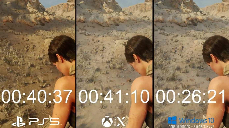 《地铁:逃离》XSX、PS5和PC对比 主机帧数稳PC加载快