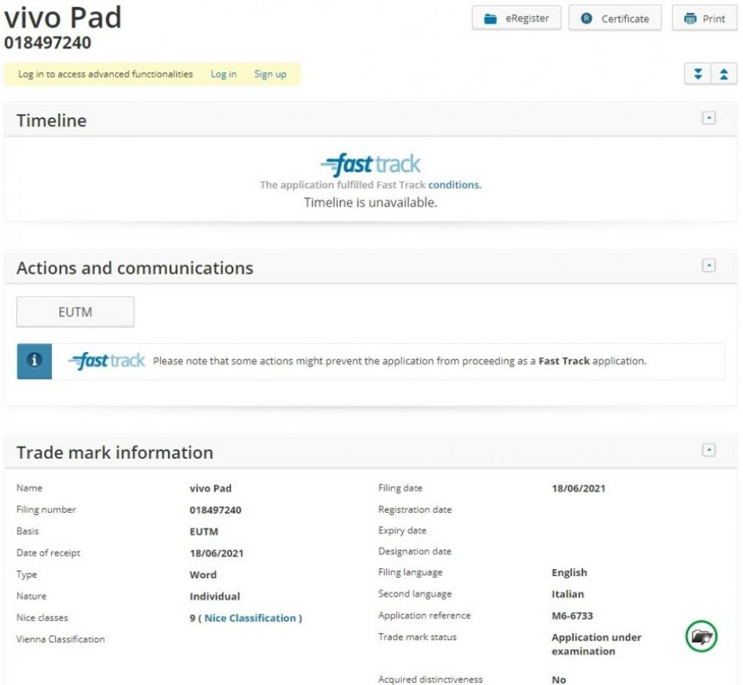"""vivo注册""""vivo Pad""""商标 或将进军平板电脑市场"""